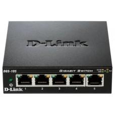SWITCH D-LINK  5P DGS-105GL 10/100/1000 METAL PAR