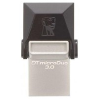 Kingston Technology DataTraveler 64GB microDuo 3.0 64GB USB 3.0/Micro-USB Negro unidad flash USB (Espera 2 dias)