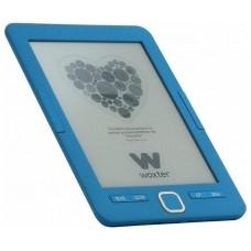 """E-BOOK WOXTER SCRIBA 195 6"""" 4GB E-INK AZUL"""