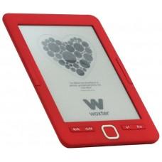 """E-BOOK WOXTER SCRIBA 195 6"""" 4GB E-INK ROJO"""