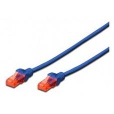 Ewent Latiguillo Categoría 6 U/UTP 0,5 M Azul