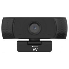 Ewent EW1590 cámara web 2 MP 1920 x 1080 Pixeles USB Negro (Espera 4 dias)