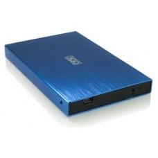 """CAJA EXTERNA HDD 2.5"""" SATA-USB 3GO AZUL"""