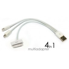 USB 4in1 iPhone iPad Samsung Blackberry (Espera 2 dias)