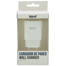 iggual cargador de pared 1xUSB 5V/2A (10W)