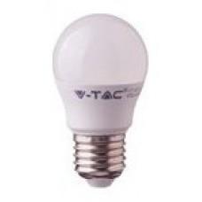 BOMBILLA LED E27 G45 V-TAC 5.5W 40W LUZ NATURAL 470LM