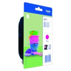 TINTA BROTHER LC221MBP MAGENTA  MFCJ4420DW MFCJ4620DW  260PAG BLISTER
