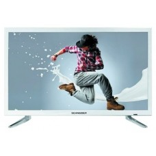 Schneider RAINBOW TV 24 LED HD USB HDMI blanca