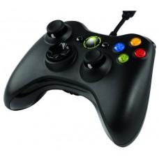 Mando Xbox360 Negro (Con cable) (Espera 2 dias)