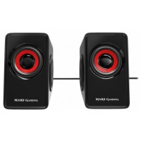 ALTAVOCES 2.0 MARS GAMING MS1 10W RMS VIBRO-SUBWOOFER