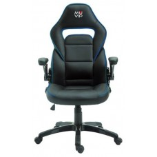 Silla Gaming GM400 Negro/Azul MUVIP (Espera 2 dias)