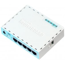 ROUTER MIKROTIK HEX LITE 5 PORT