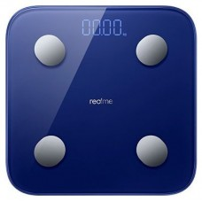 realme Smart Scale Rectángulo Azul Báscula personal electrónica (Espera 4 dias)