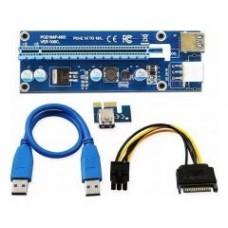RISER CARD RS006 PCI-E-USB3.1 ADAPTER 4PIN MOLEX