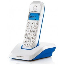 MOTOROLA S1201 Telefono DECT Azul