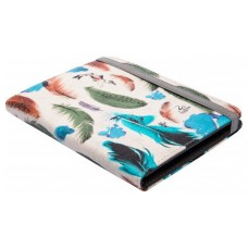 FUNDA LIBRO ELECTRONICO UNIVERSAL SILVER HT 6 FEATHERS