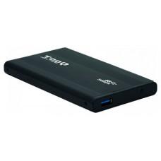 CAJA EXTERNA 2.5 TOOQ 95 MM SATA USB 3.0 NEGRA TOOQ