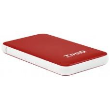 Tooq C.Exter TQE-2528R 2,5 9,5 m SATA USB 3.1 roj