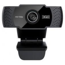 WEBCAM 3GO VIEW HD 720P USB NEGRA (Espera 4 dias)